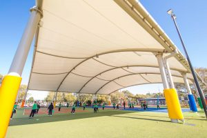Canopy for better outdoor learning and activities