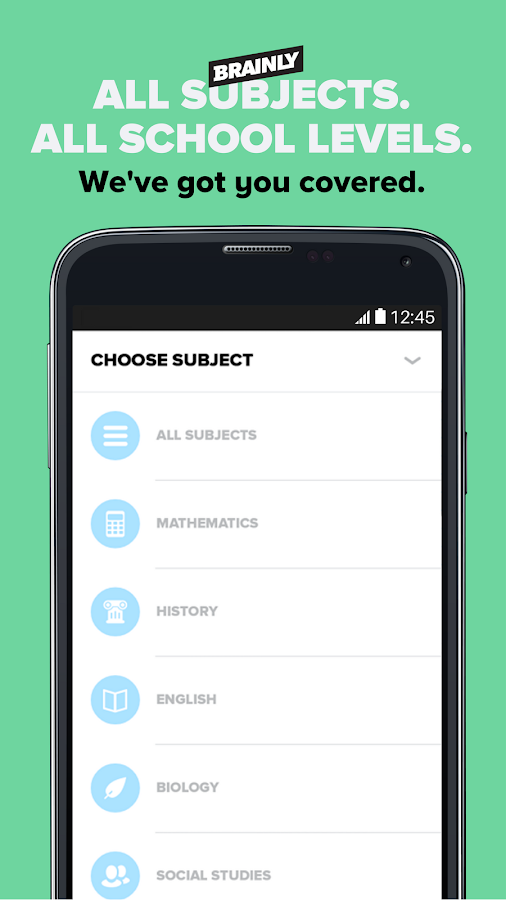 subject and homework learning app
