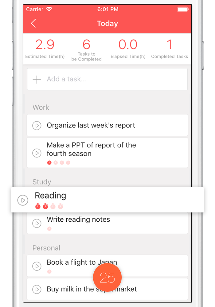 focus and productivity app for students