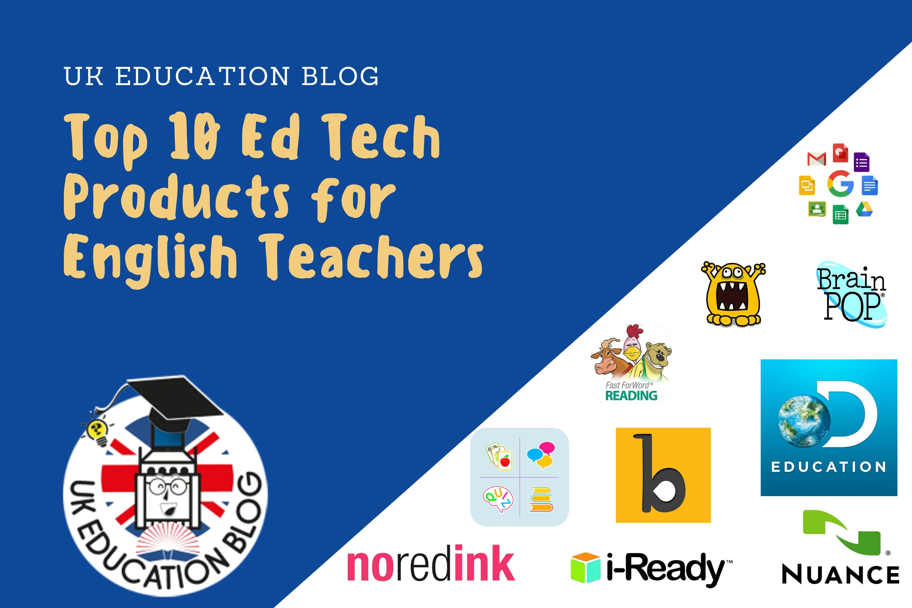 Ed Tech Products for English Teachers