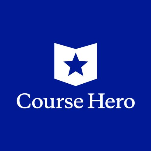 Course Hero - online tutoring