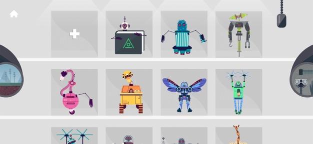 The Robot Factory - STEM App For Children