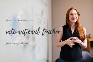 international teaching job