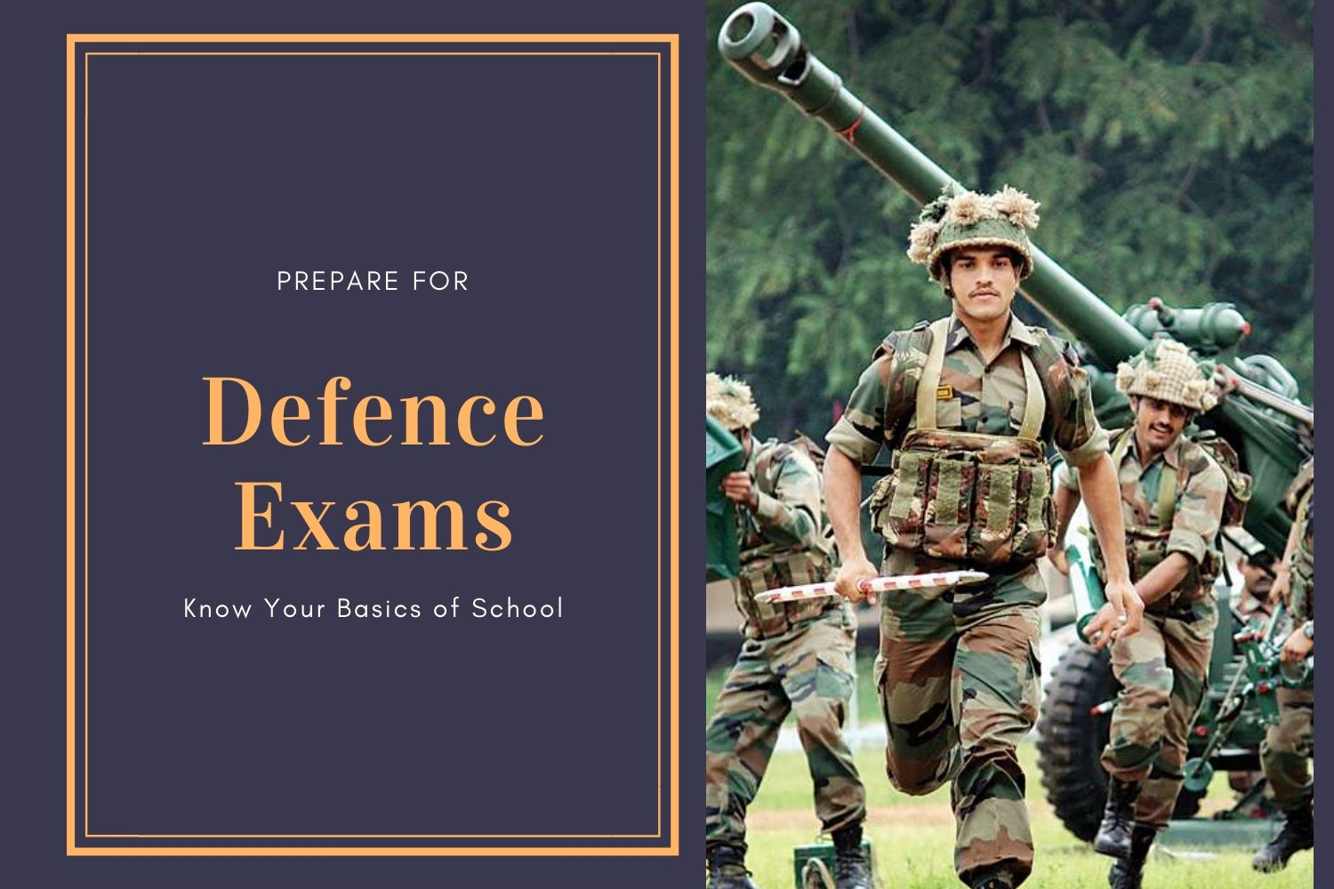 Basics For Defence Exam Preparation