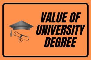 university degree value