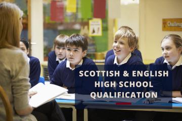 Scottish and English High School Qualification New