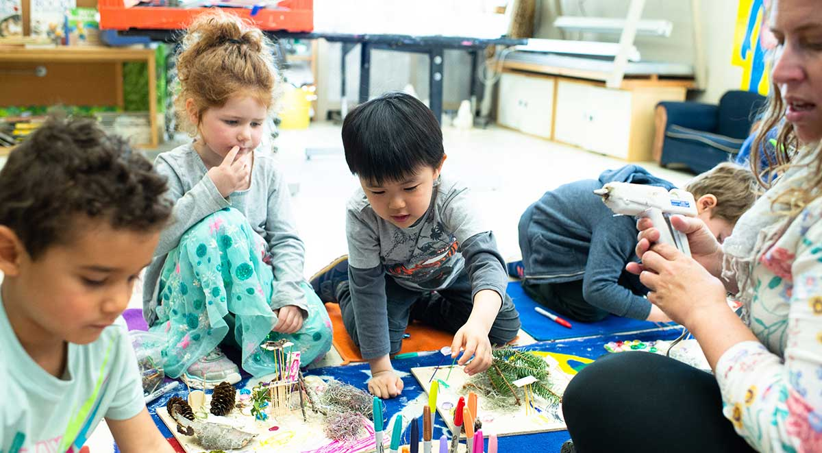 Your child learns to embrace their creativity